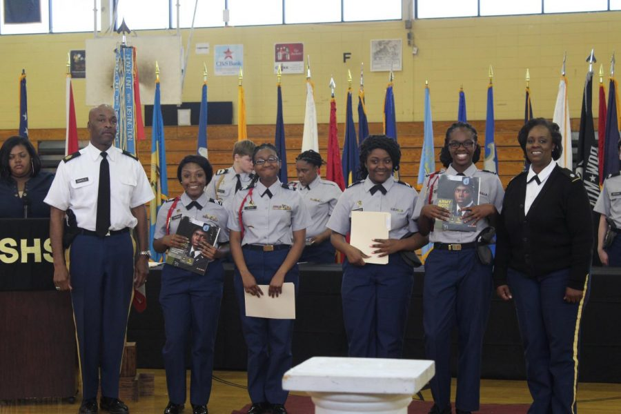 JROTC recognizes excellence at awards banquet