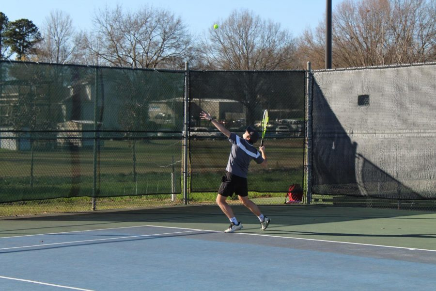 Tennis district play