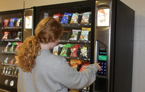 New vending machines on campus