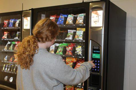 New vending machines on campus