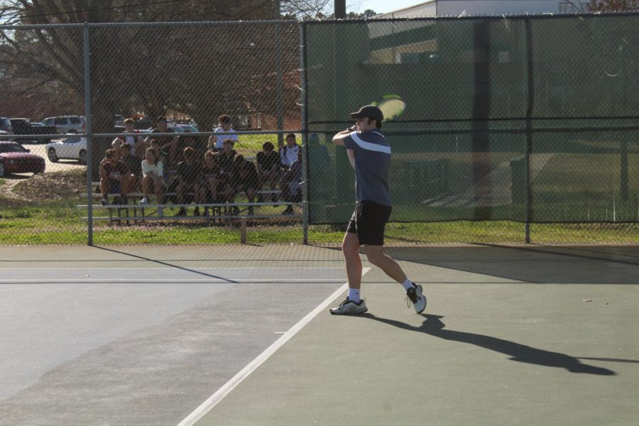 Tennis season begins with a win at home