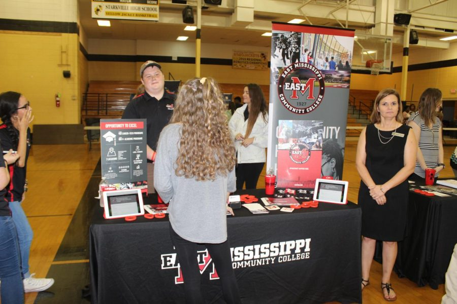 College opportunities made available to students at annual college fair