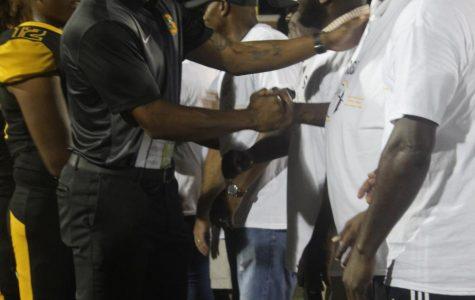 SHS Alumni honored at home football game