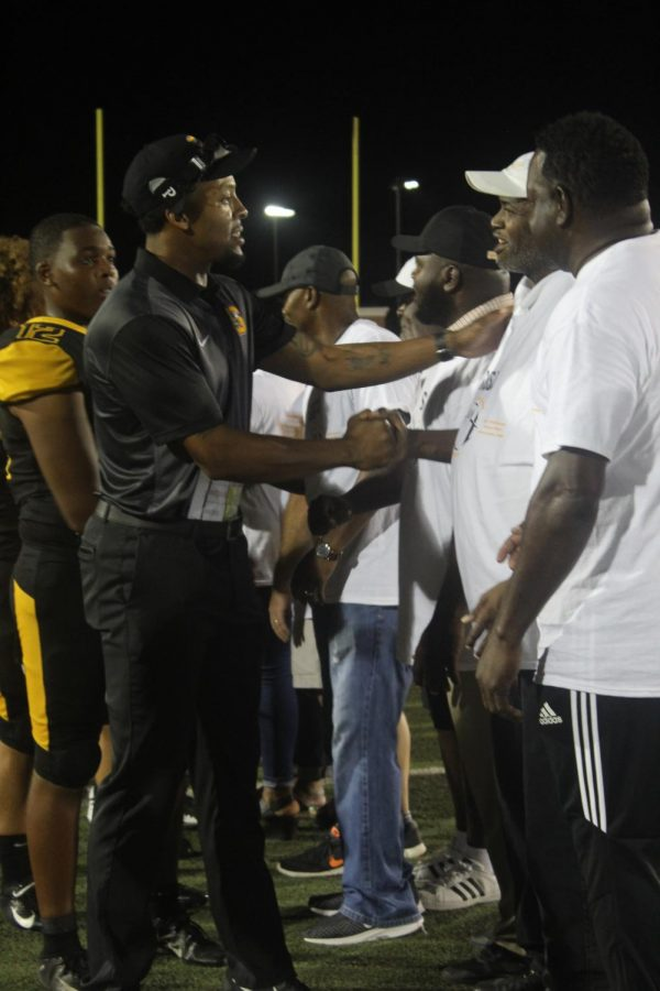 SHS Alumni honored at home football game