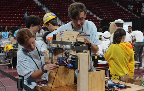 Robotics team competes at state competition