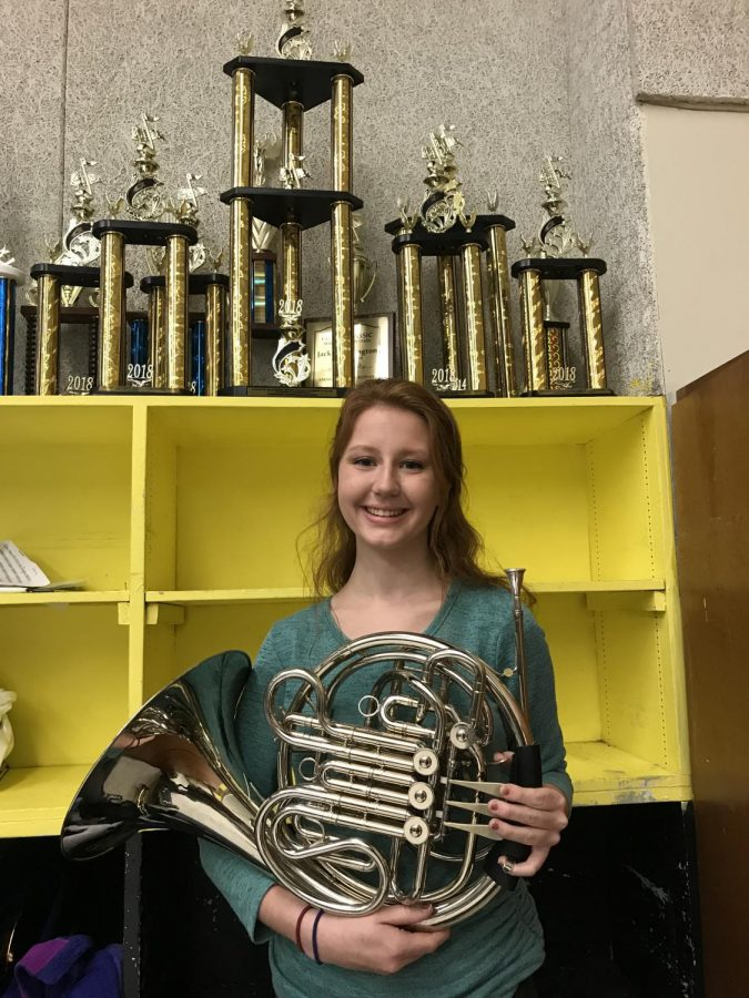 SHS student accepted into Lions Band