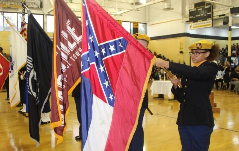 Annual Veterans Day program held by JROTC cadets