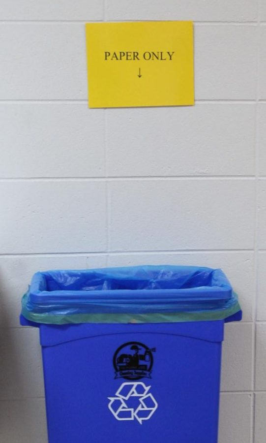 National Honor Society starts recycling program