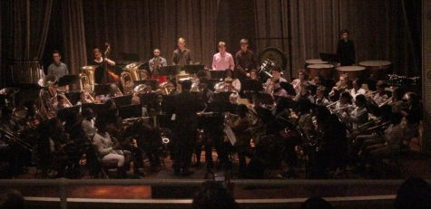 SHS band hosts annual winter concert