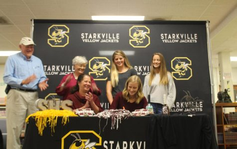 SHS runner signs to Mississippi State University