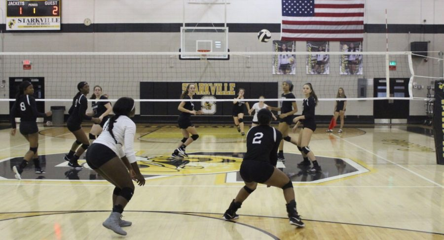 Jacket Volleyball gains another win