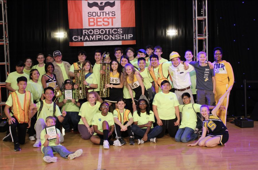 Starkville High RoboJackets compete in South's BEST regional robotics competition