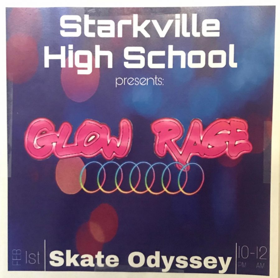 Starkville High hosts glow rage after a two year break