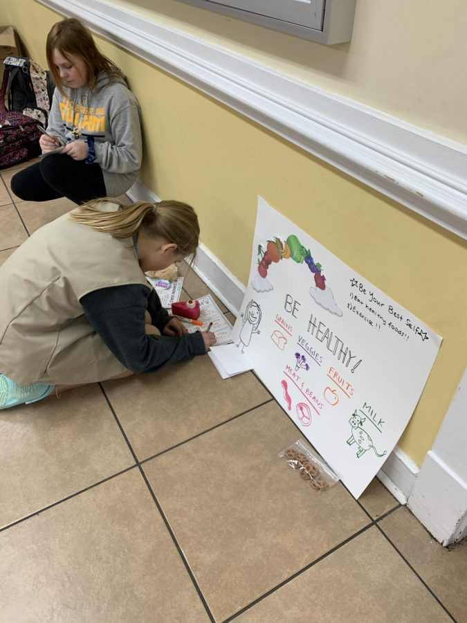 DYW participants mentor Girl Scouts