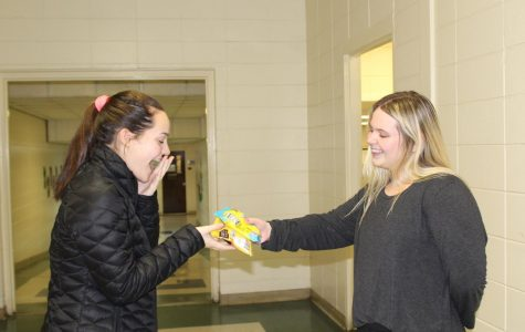 Student Council sells valentines as a fundraiser