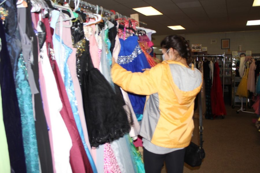 Dresses of Hope brings prom dresses to high school girls.